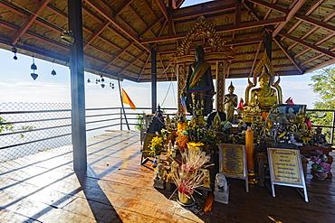 The Floating Pagodas of Wat Chaloem Phra Kiat Phrachomklao Rachanusorn Temple, Lampang, Thailand, Southeast Asia, Asia - 1281-13