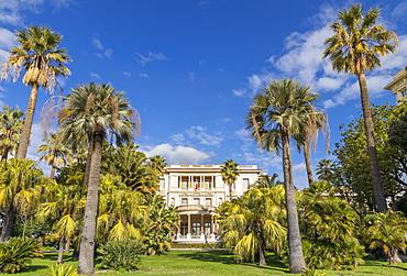 Massena Museum at Promenade des Anglais, Nice, Alpes Maritimes, Cote d'Azur, French Riviera, Provence, France, Mediterranean, Europe
