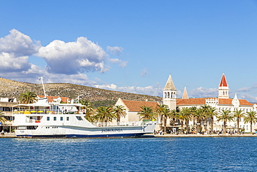 Cityscape of the old town of Trogir, Croatia, Europe