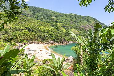 Ponta Negra Beach near Paraty, Rio de Janeiro, Brazil, South America