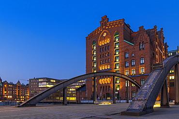 International Maritime Museum at the historical Speicherstadt (Warehouse complex), Hamburg, Germany, Europe