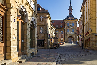 The old town hall of Bamberg, Bamberg, UNESCO World Heritage Site, Upper Franconia, Bavaria, Germany, Europe