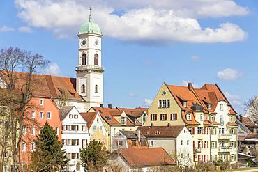 Stadtamhof, old quarter in Regensburg, UNESCO World Heritage Site, Bavaria, Germany, Europe
