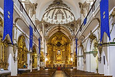 Interior of the San Francisco Church, Cordoba, Andalusia, Spain, Europe