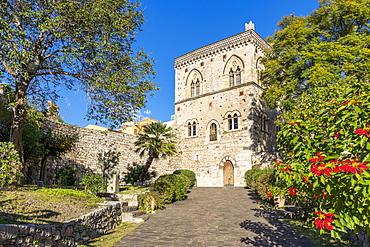 The Dukes of Santo Stefano's Palace, Taormina, Sicily, Italy, Europe