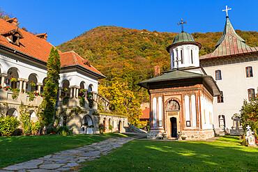 Turnu Monastery in the Cozia National Park, Cozia, Romania, Europe