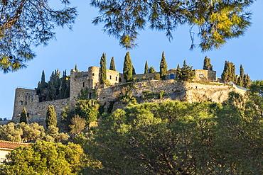 Former Cassis Castle (Chateau de Cassis), Cassis, Bouches du Rhone, Provence, France, Europe