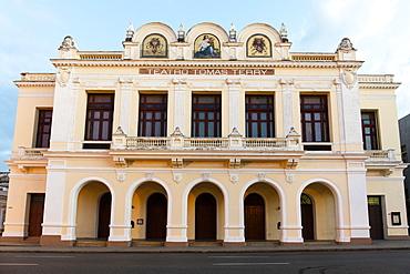 Teatro Tomas Terry (Tomas Terry Theatre), Cienfuegos, UNESCO World Heritage Site, Cuba, West Indies, Caribbean, Central America