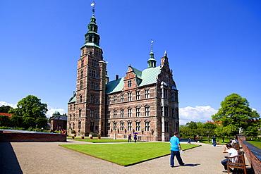 Rosenborg Castle, Copenhagen, Denmark, Europe