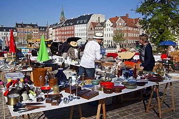 Flea market, Copenhagen, Denmark, Europe
