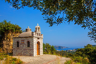 Church of St. Nicholas, Himara, South coast, Albania, Europe