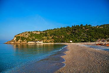 Livadi Beach, Himara, South coast, Albania, Europe