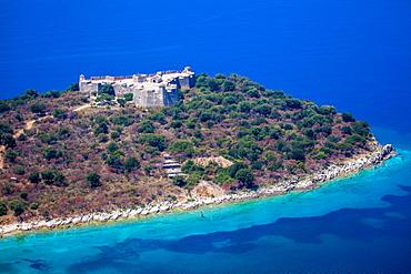 Porto Palermo, South coast, Albania, Europe
