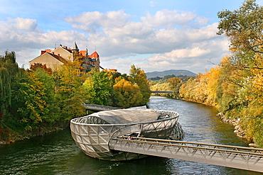 Vito Acconci Island, Graz, Styria, Austria, Europe