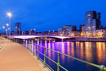 Pont Kennedy, Liege, Belgium, Europe