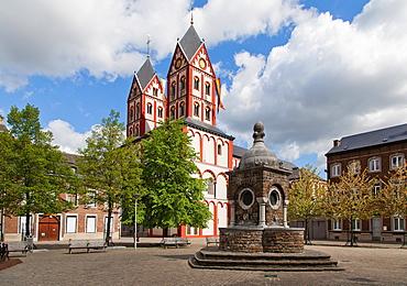 Collegiate of San Bartolomeo, Liege, Belgium, Europe