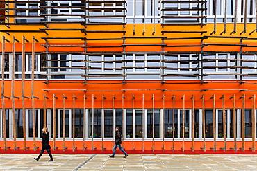 3D Building, WU Campus, Vienna, Austria, Europe