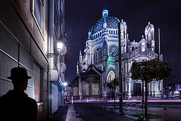Saint Mary's Royal Church, Brussels, Belgium, Europe