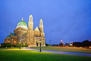 Basilique Nationale du Sacre-Coeur, Brussels, Belgium, Europe