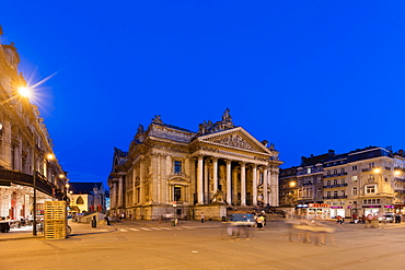 The Place de la Bourse, Brussels, Belgium, Europe