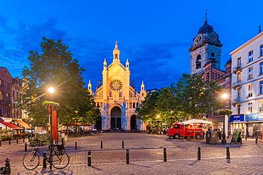 The Catherine Square, Brussels, Belgium, Europe