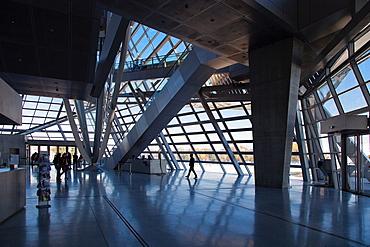 Confluence Museum, Confluence district, Lyon, Auvergne-Rhone-Alpes, France, Europe