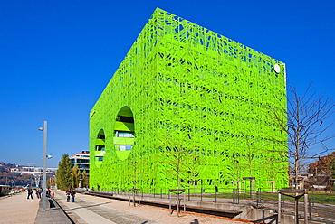 Confluence district, Lyon, Auvergne-Rhone-Alpes, France, Europe