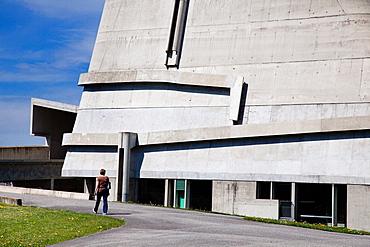 Eglise Saint-Pierre, Site Le Corbusier, Firminy, Loire Department, Auvergne-Rhone-Alpes, France, Europe