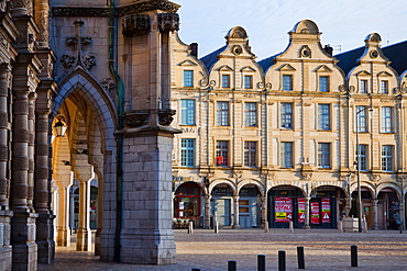Place des Heros, Arras, Pas-de-Calais, France, Europe