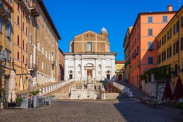 Piazza del Plebiscito, Ancona, Marche, Italy, Europe