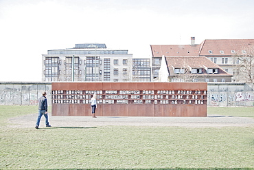 Berlin Wall Memorial on Bernauer Strasse, Berlin, Germany, Europe