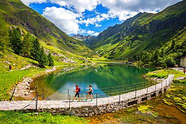 The Gleno Dam, Vilminore di Scalve, Val di Scalve, Lombardy, Italy, Europe