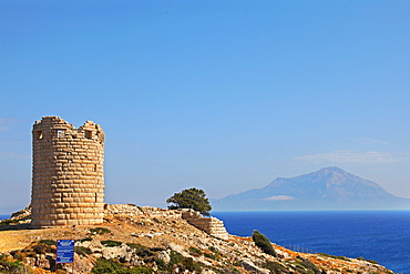 Drakano Fortress, Ikaria Island, Greek Islands, Greece, Europe