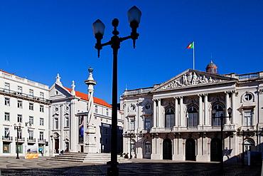 Praca do Municipio, Lisbon, Portugal, Europe