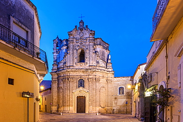 Church of San Giuseppe, Nardo, Puglia, Italy, Europe