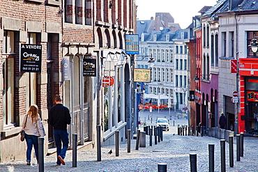 Rue de Clercs, Mons, Wallonia, Belgium, Europe