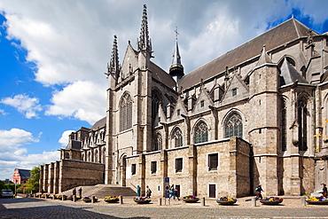 Collegiate Church of St. Waudru, Mons, Wallonia, Belgium, Europe