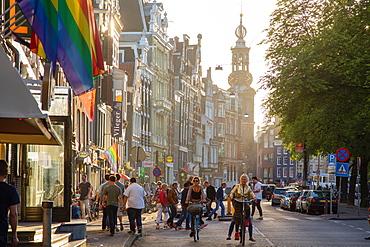 Munttoren, Amsterdam, North Holland, The Netherlands, Europe