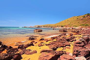 Cavalleria beach, Minorca, Balearic Islands, Spain, Mediterranean, Europe