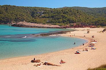 Agarianes beaches, Minorca, Balearic Islands, Spain, Mediterranean, Europe
