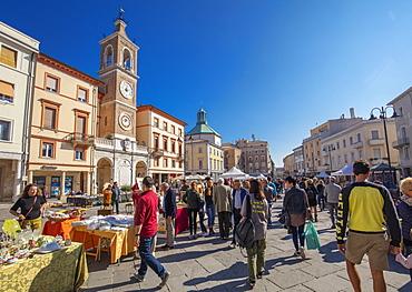 Piazza Tre Martiri, Rimini, Emilia Romagna, Italy, Europe