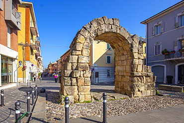 Porta Montanara, Rimini, Emilia Romagna, Italy, Europe