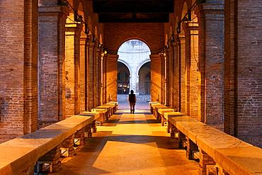 The old fish market, Rimini, Emilia Romagna, Italy, Europe