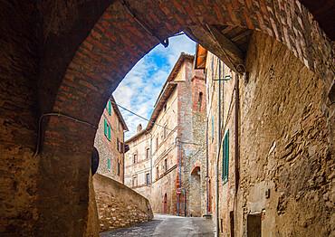 Via Virgilio Ceppari, Panicale, Umbria, Italy, Europe