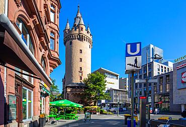 The Escheinheimer Tor, Frankfurt am Main, Hesse, Germany, Europe
