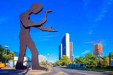 Messeturm, Frankfurt am Main, Hesse, Germany, Europe