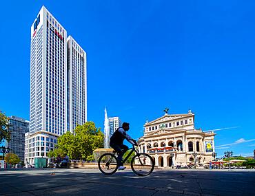Opern Platz, Frankfurt am Main, Hesse, Germany, Europe