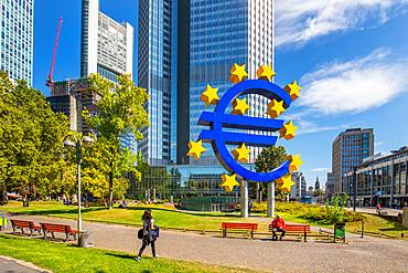 Weissfrauenstrasse, Frankfurt am Main, Hesse, Germany, Europe
