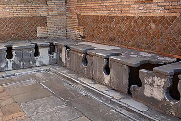 Forica delle Terme del Foro, Ostia Antica, Rome, Lazio, Italy, Europe
