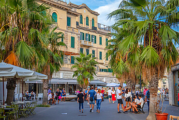 Via Luco Coilio, Lido di Ostia, Rome, Lazio, Italy, Europe